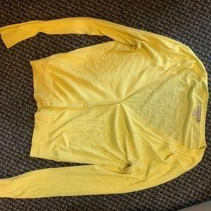 yellow cardigan - Banana Republic (large)